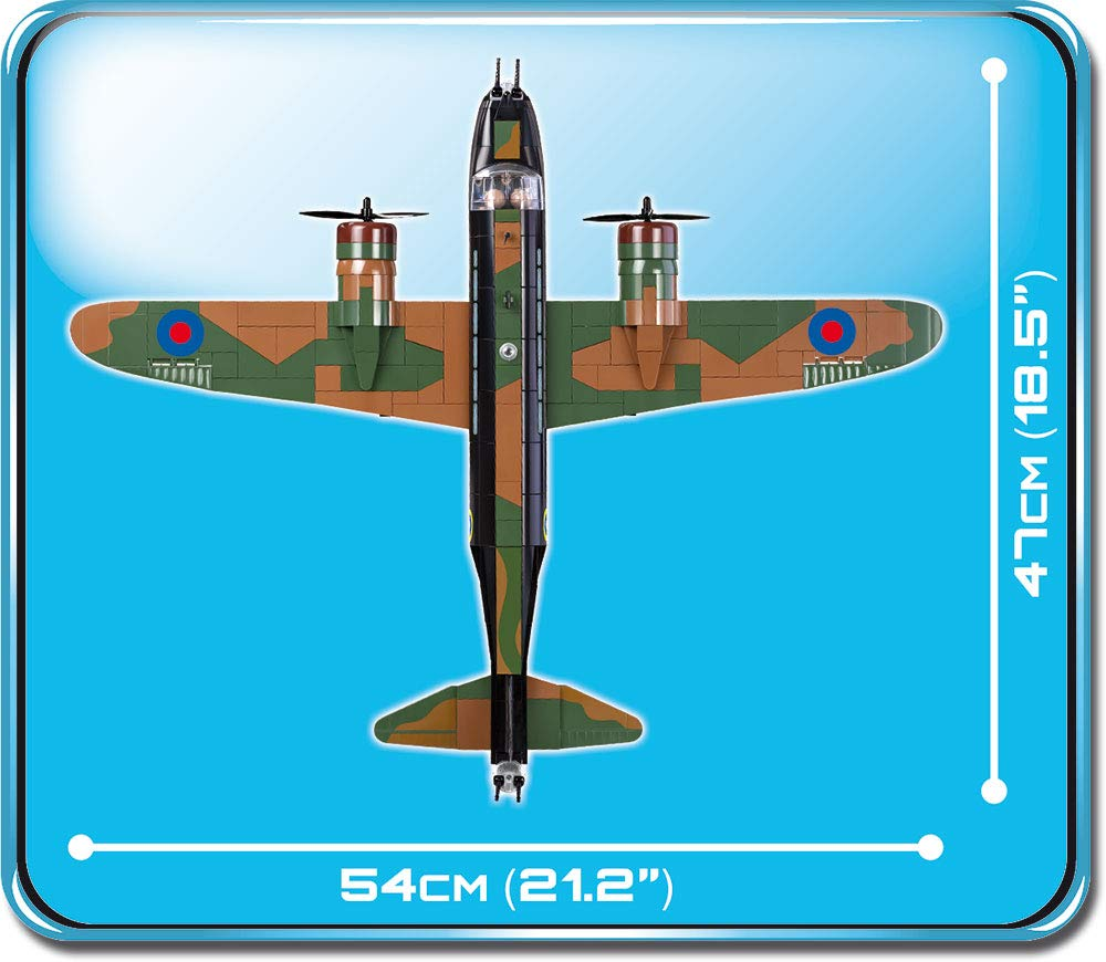 Cobi 560 Pcs Small Army Wellington Mk 1c