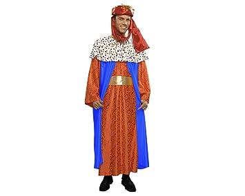 Disfraz o traje de Rey Mago Baltasar de hombre talla M-L ...