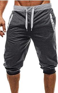 QD-CACA Shorts Casual Harem Jogger Mens Casual Sports Pants Shorts