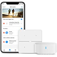 Broadlink Smart Button, 3 Way Dimmer Switch Control with IFTTT and Alexa Routines for Home Automation, Wireless Trigger…
