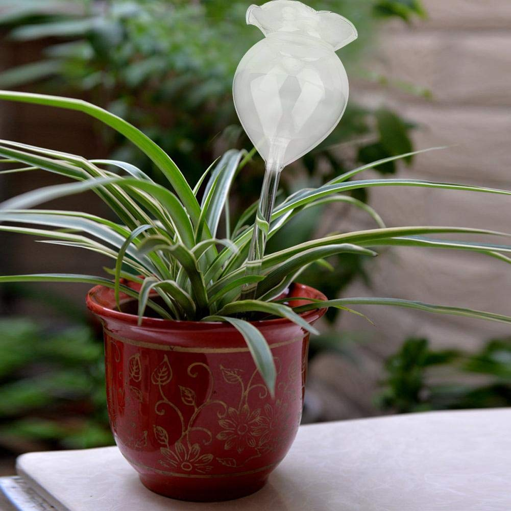 idalinya Plant Self Watering Spikes System Adjustable Automatic Plant Watering Irrigation Device Flower Water Drip Spikes