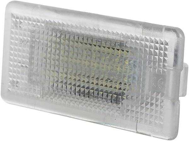 1PC 12V Car Trunk/&Car Interior White LED Strip Lights Bar Lamp Super Waterproof