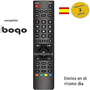Mando a distancia Especifico para Television Tv BOGO: Amazon.es ...