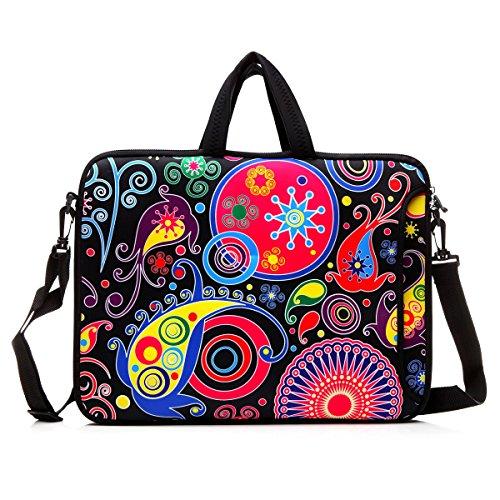 "14-Inch Laptop Shoulder Bag Sleeve Case With Handle For 13"""