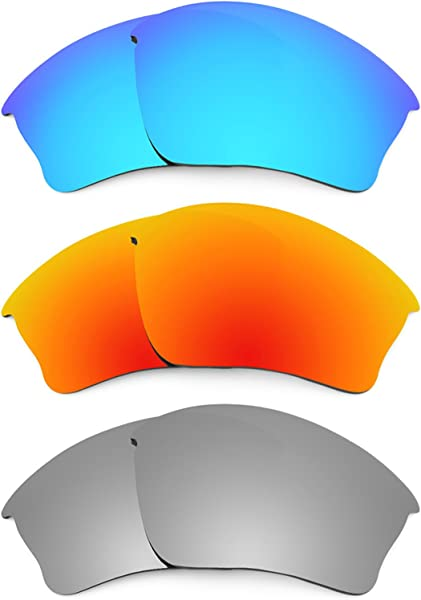 6f7df0f8bfe Revant Replacement Lenses for Oakley Half Jacket XLJ 3 Pair Combo Pack K014