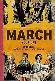 March: Book One by [Lewis, John, Andrew Aydin]