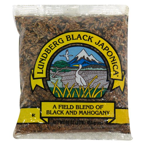 Lundberg Black Japonica Rice, 16-Ounces (Pack of 12) by Lundberg