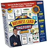 Art Explosion Business Card Factory Deluxe