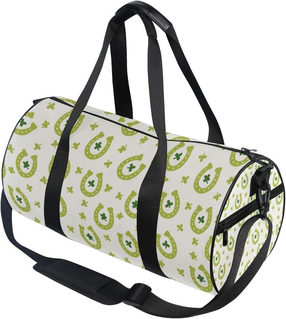 MALPLENA Pattern Luck Drum gym duffel bag women Travel Bag