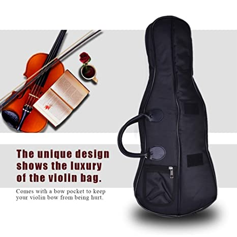 Amazon.com: Violin Case Bag Backpack , Professional Portable ...