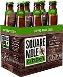 Square Mile Hopped Cider, 6 pk, 12 oz bottles, 6.7% ABV