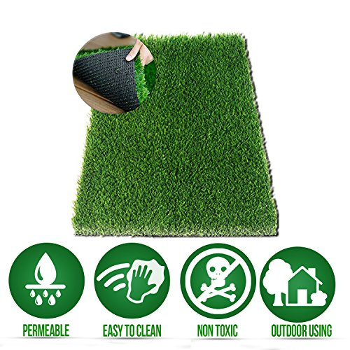 Ideas In Life Dog Potty Grass Pee Replacement - Large 20.00