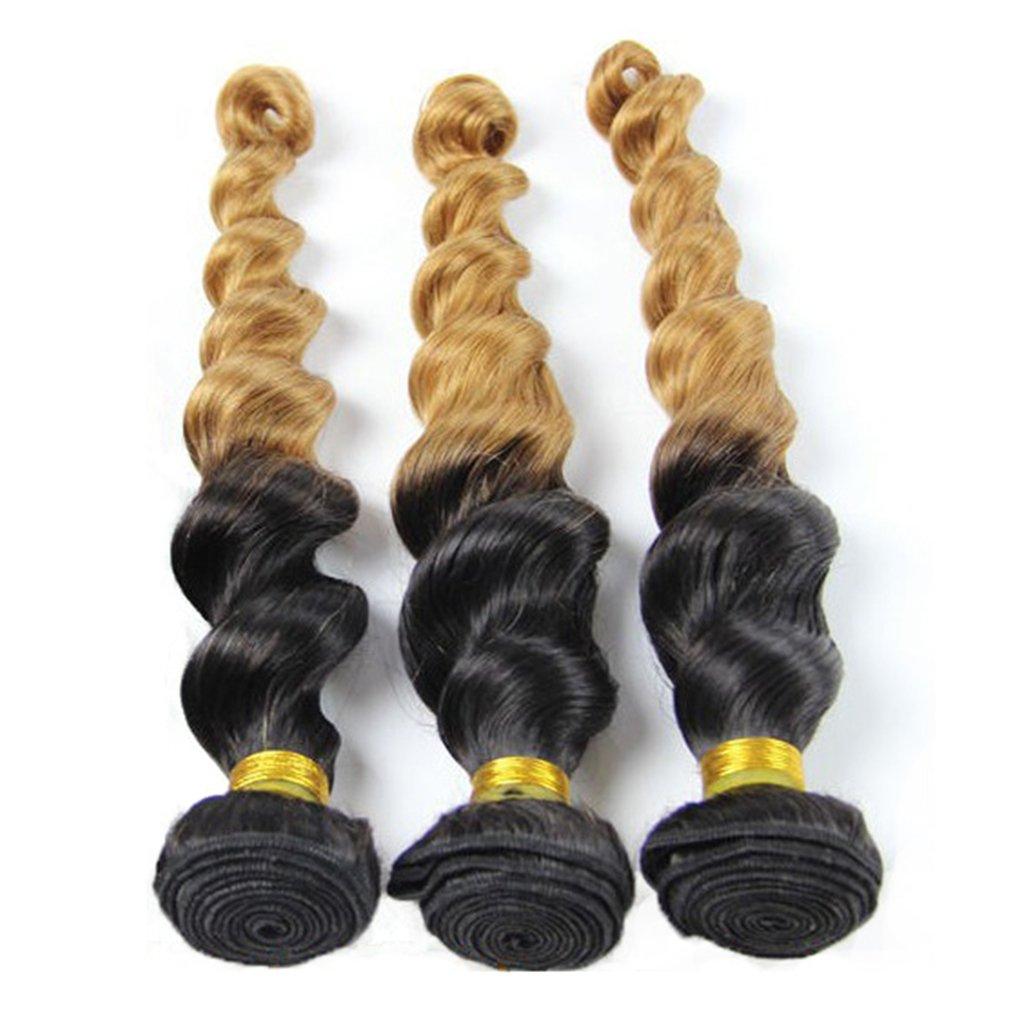 Amazon Loose Wave Brazilian Hair 3 Bundles Babe Hair Wet And