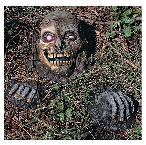 Full Skull Mask (Scary Front Yard Decorations Halloween)
