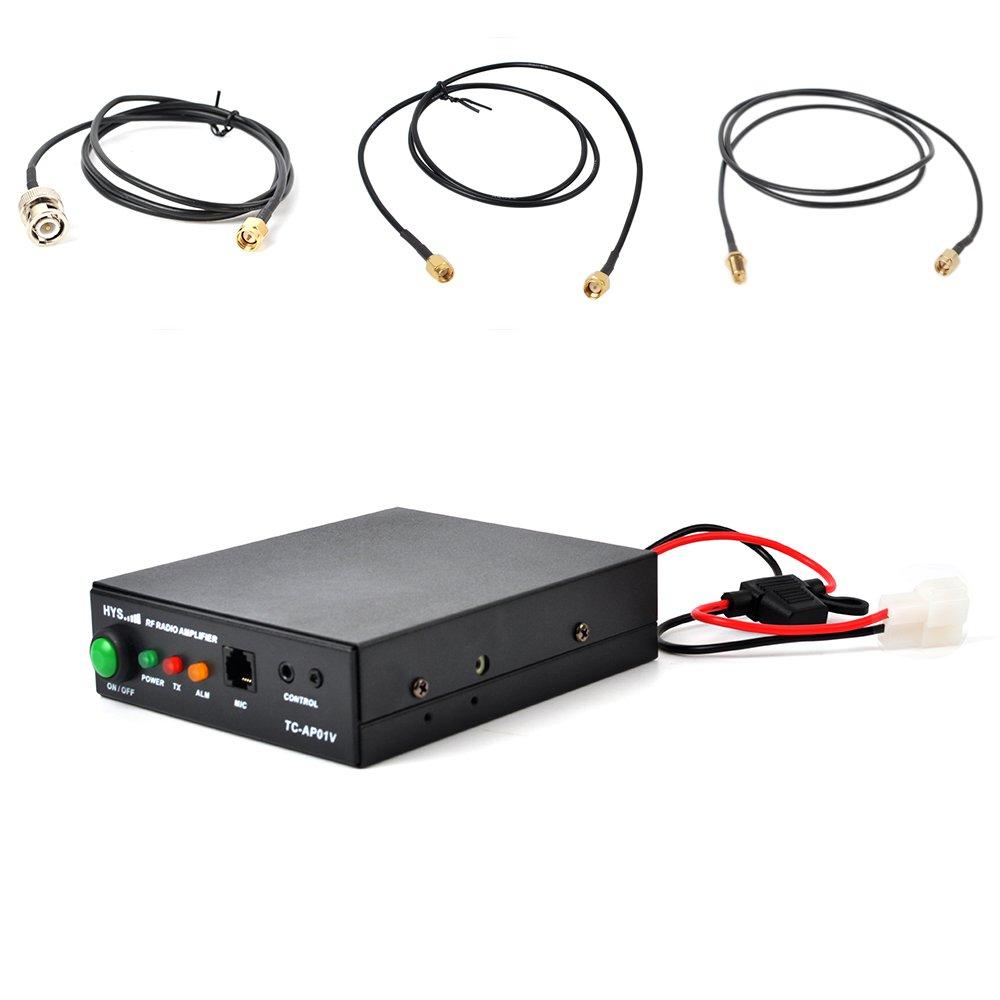HYS 25W VHF 137-174MHz Ham/Portable Radio Power Amplifier For 2W,6W,4W,5W,6W Yaesu Icom TYT Motorola Walkie Talkie Transceiver