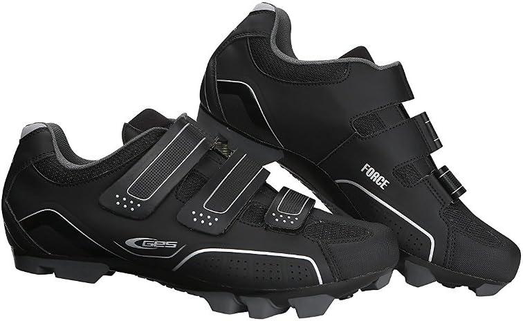 GES Z300X4400000 Zapatillas de Ciclismo, Hombre, Negro, 44.0 ...