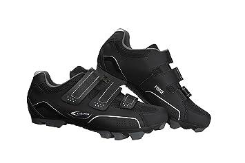 GES Z300X4200000 Zapatillas de Ciclismo, Hombre, Negro, 42.0: Amazon.es: Deportes y aire libre