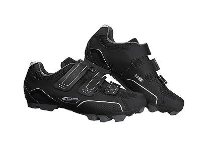 GES Z300X4400000 Zapatillas de Ciclismo, Hombre, Negro, 44.0