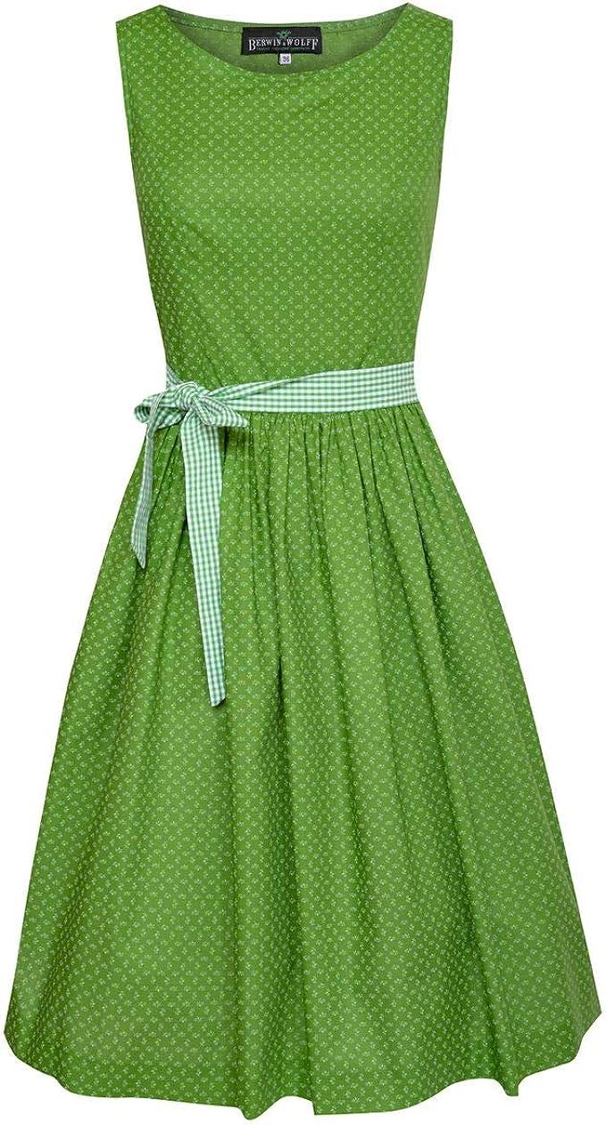 Berwin und Wolff Damen Trachten-Mode Kleid Elicia in Grün traditionell