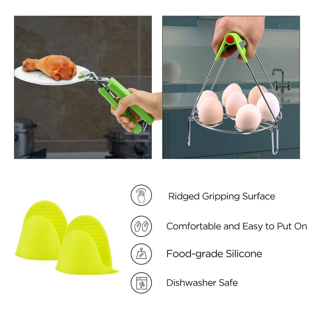 Kit de accesorios para ollas instantáneas: 10 piezas - Molde ...