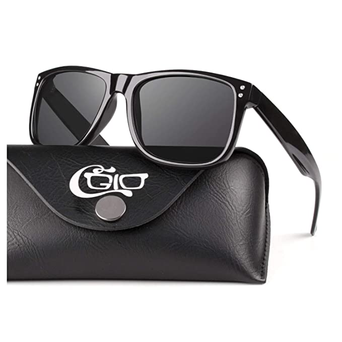 CGID Classic Polarized Driving Sunglasses for Men and Women with Metal Decoration UV400 MJ44