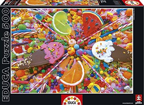 Educa 16271 Puzzle 500 Pezzi Tematica Dolci