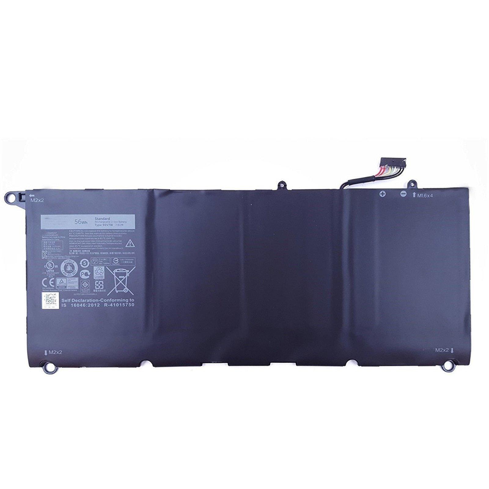 Bateria 90v7w 56wh 7.6v 6 Celdas Para Dell Xps 13 9350 Xps13-9350-d1608 Xps13-9350 5k9cp Din02 9ov7w