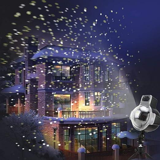 Maiqiken Navidad lámpara de Luces LED Proyección lámpara Exterior ...