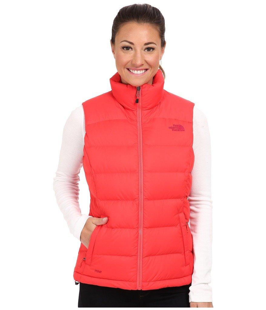 The North Face Women's Puffer Vest, Rambutan Pink, Large