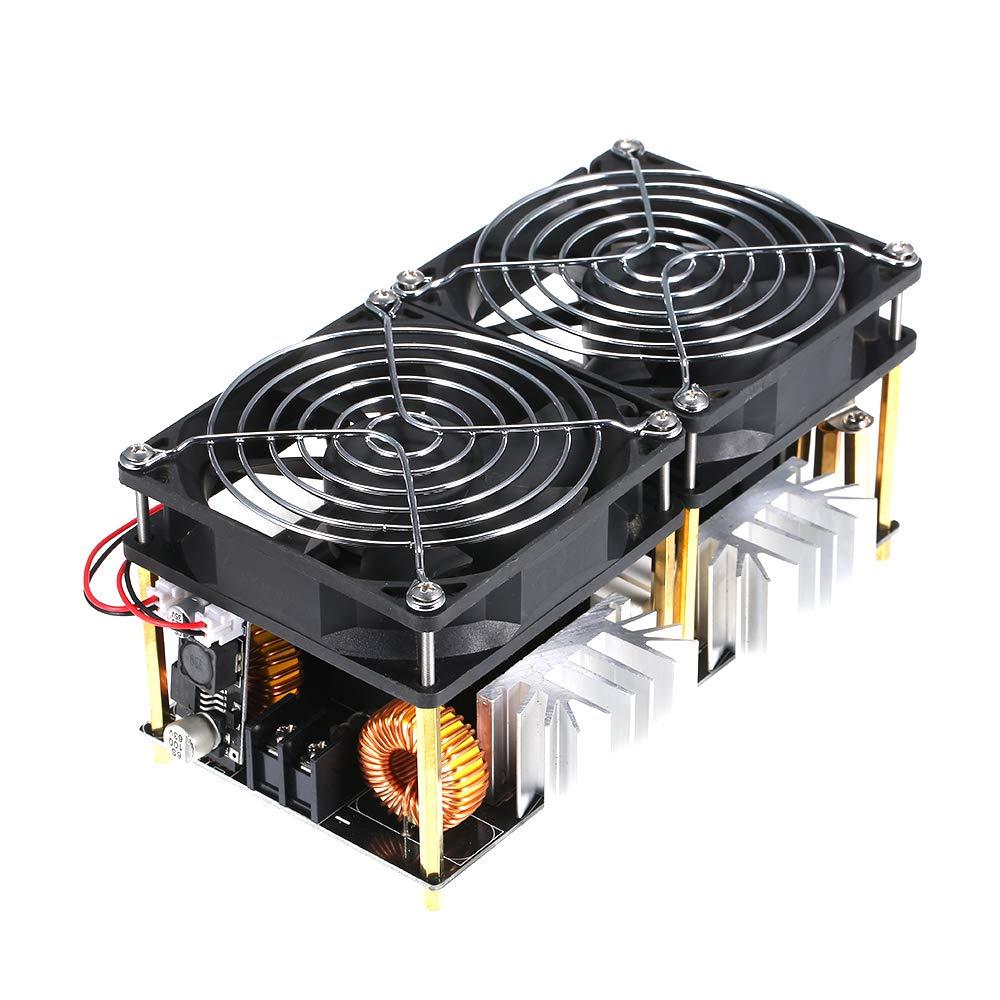 Acquisto Hylotele 1800W 40A 12 V-48 V ZVS Modulo di Riscaldamento di Induzione DIY Flyback Driver Riscaldatore Buona Dissipazione di Calore con Accessori Bobina Prezzi offerte