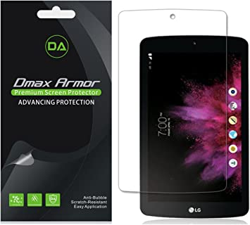 LG G Pad F 8.0 3X SuperGuardZ Anti-glare Matte Screen Protector Shield Armor
