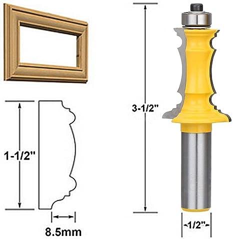 Holzbearbeitung Fraeser Set 1//2 Zoll Schaft Gehrung Tuer /& Schublade Panel