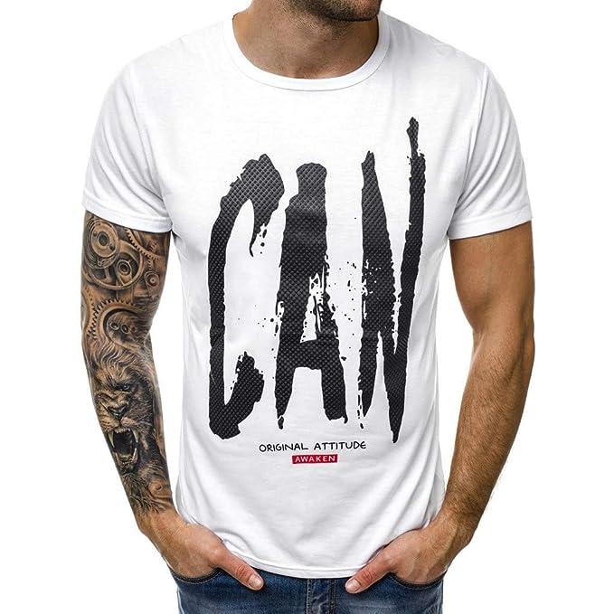 COOLIY Moda Uomo Sportivi T Shirt Personalizzata Stampa