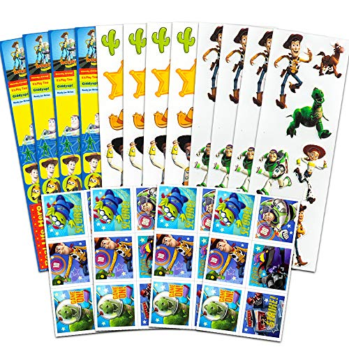 Disney Pixar Toy Story Party Favors Stickers Pack ~ Bundle with Over 150 Toy Story Stickers (Toy Story Party Supplies)