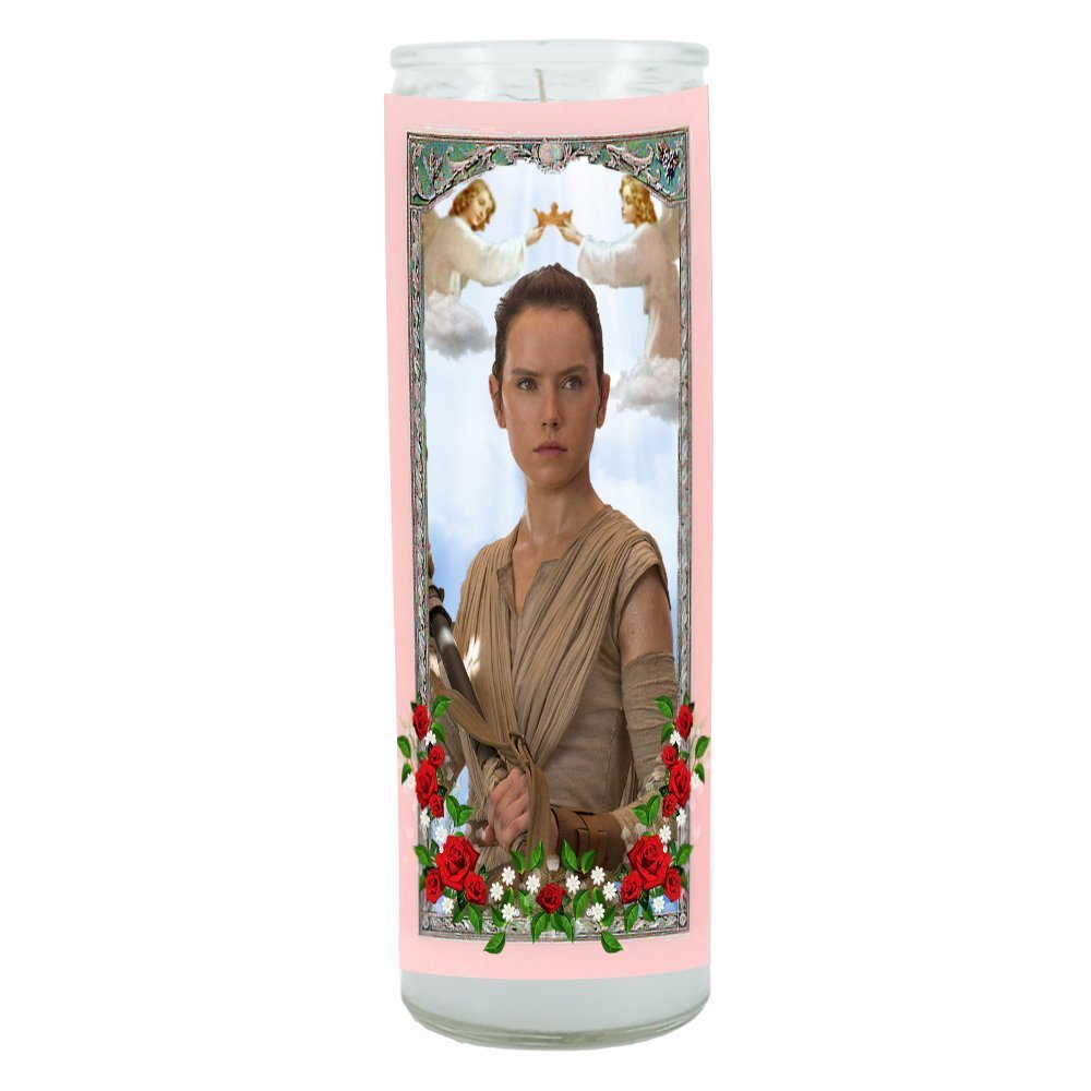 Rey Star Wars The Force Awakens Prayer Candle