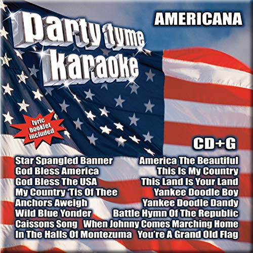 Party Tyme Karaoke - Americana (16-song CD+G)