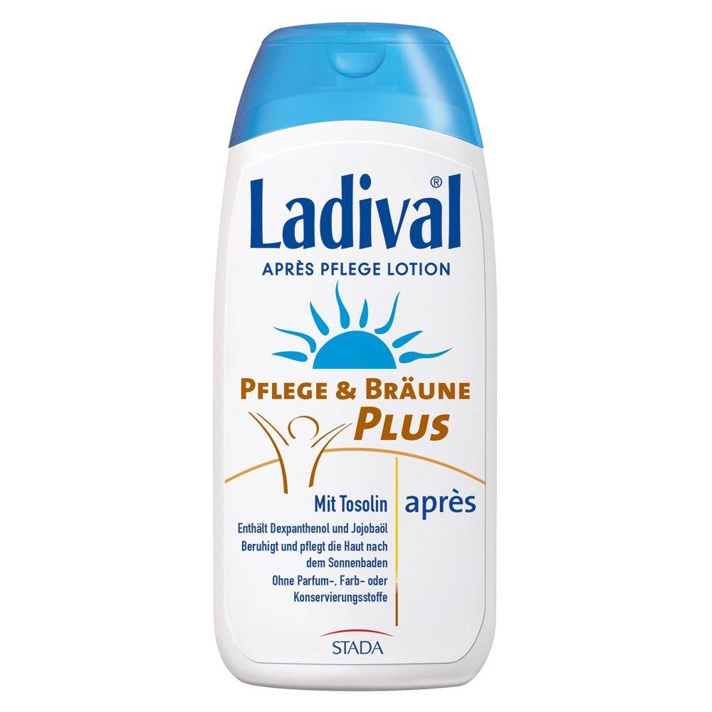 LADIVAL Pflege& Bräune Plus Apres Lotion 200 ml Lotion STADA GmbH 155816