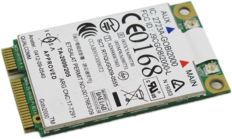 Lenovo ThinkPad – Qualcomm Gobi 2000 WWAN/UMTS Módulo Mini ...