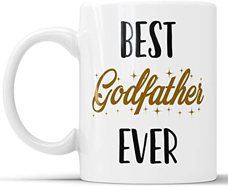 Gift ceramic coffee or tea mug. Details about  /The Best Godfather Ever