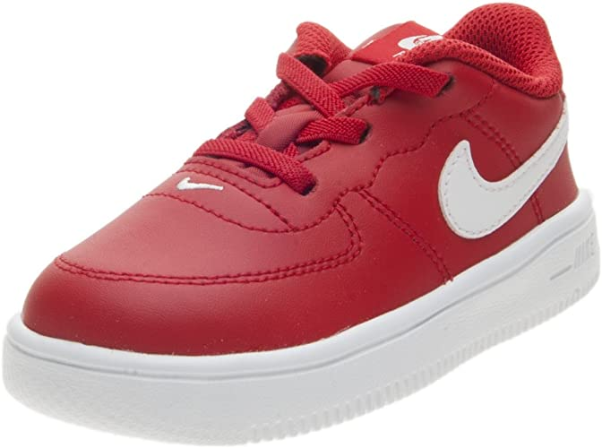 nike air force 1 rosse scarpe da basket bambino