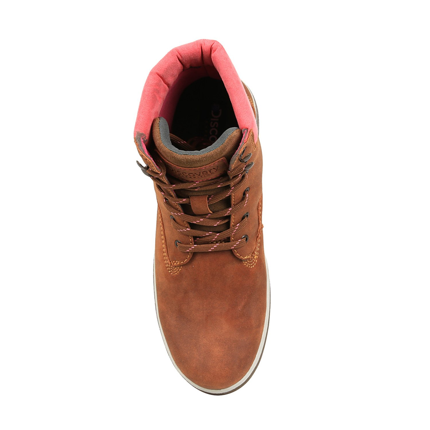 Discovery Expedition Women's Adventure High Top Lace up Hiking Boot Cinnamon Size 9.5 by Discovery Expedition (Image #5)
