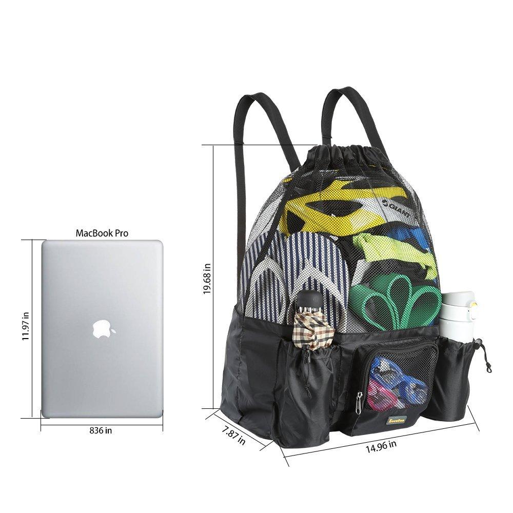 dd328c4fcf ... EocuSun Large Mesh Swimming Bag