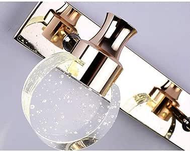 LUHEN - Espejo de baño con iluminación para la Cabeza y el ...