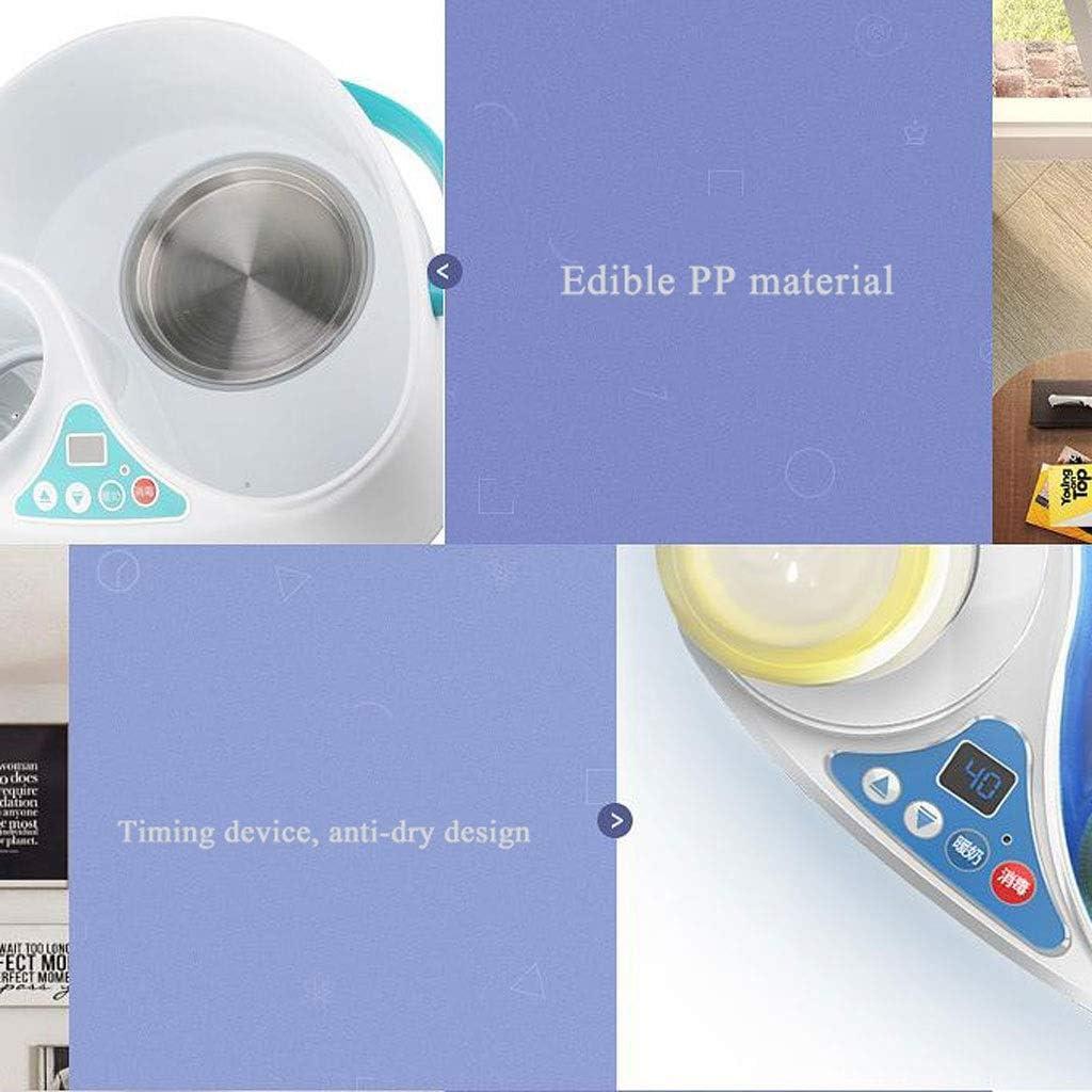 UV Sterilizer Baby Bottle Steriliser 2-in-1 Electric Steam Sterilisers Milk Heater Steamer Automatic Thermostat for Child Mum