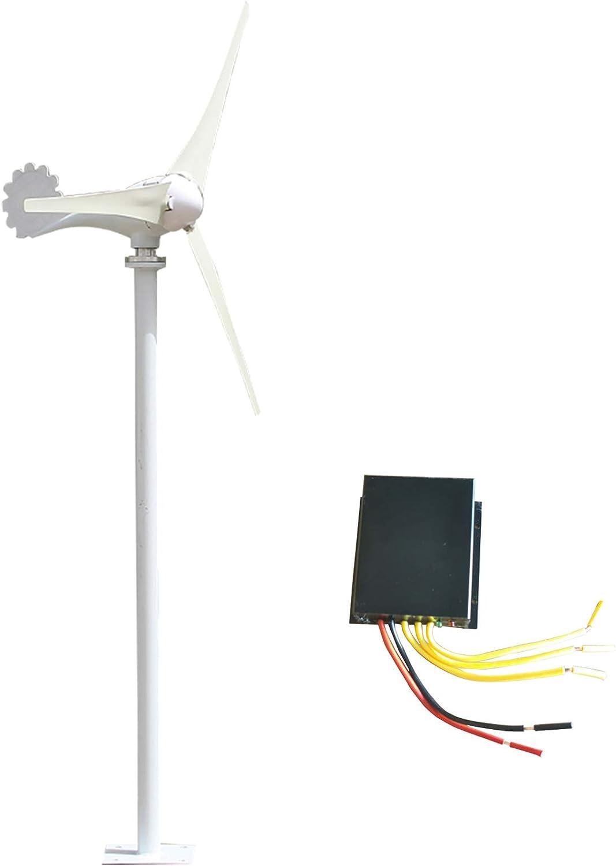 800W 12V 24V Wind Turbine Generator Kit DC 12V Charger Controller Home