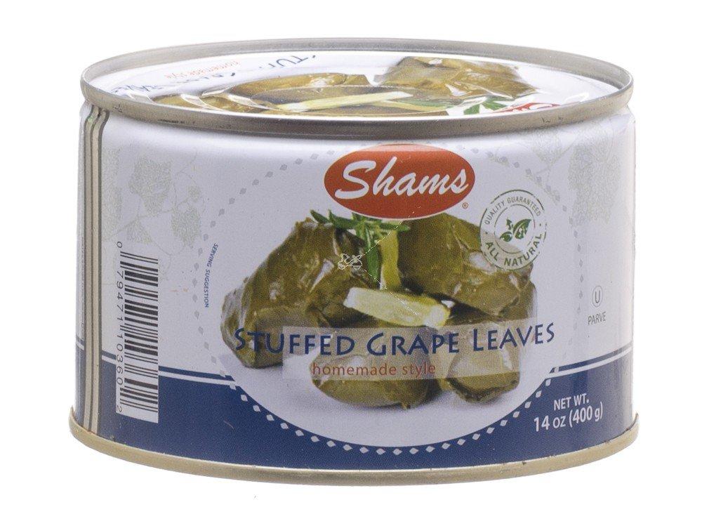 Shams Stuffed Grape Leaves Home Style 14 Oz. Pack Of 6.