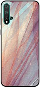For Huawei Nova 5 Case Glitter Cloth Pattern