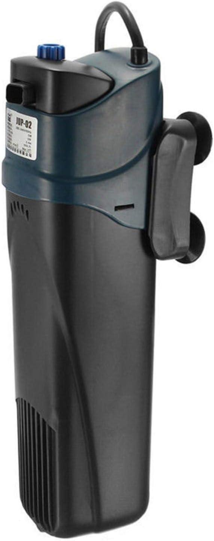 DASNTERED Pompa per filtro dell'acquario, pompa dell'acqua sommergibile interna con testa di potenza, filtro per pompa di ossigeno ultra silenzioso sterilizzatore UV, per acquario, acquario
