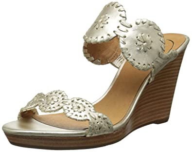 2553981ded41 Jack Rogers Women s Luccia Wedge Sandal