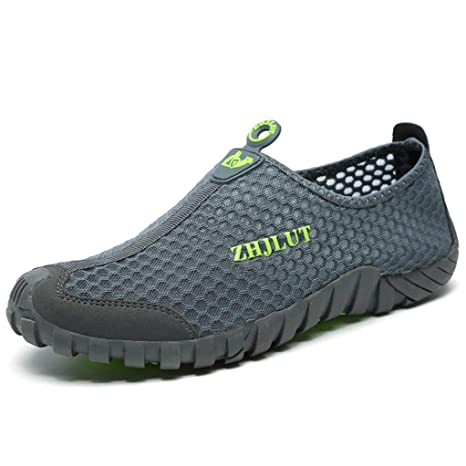 c44640414ea1e Amazon.com: Giles Jones Men Hiking Shoes Wading Anti-Slip Quick-Dry ...